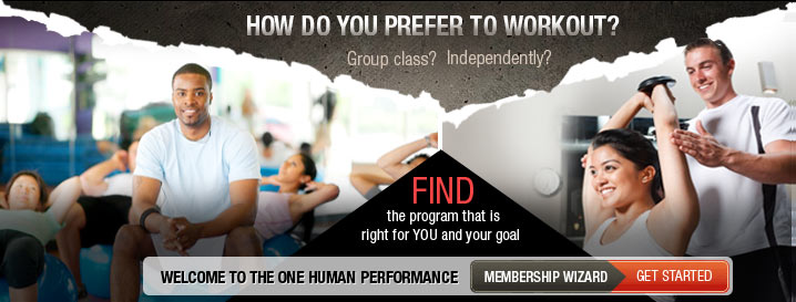 The ONE Human Performance Membership Wizard